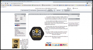 dogstoreonline old website